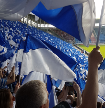 Fahnentag!!! Sieg gegen Erfurt